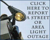 Click here to report a street or area light outage.